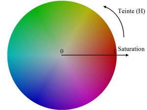 images acquises en couleurs RVB (Rouge, Vert, Bleu)