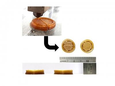 Fabrication additive de pièces comestibles : illustration de nos recherches dans la revue A3DM