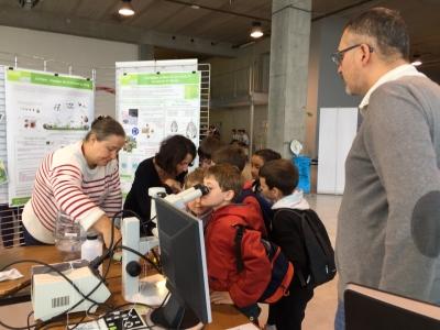 Le centre Inra Pays de la Loire à la Fête de la science