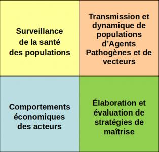 Déterminisme des maladies et dynamiques de vecteurs
