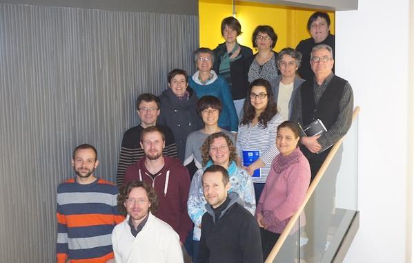 L'équipe GDO en 2016