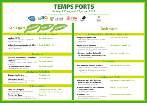 Temps forts Sival 2019