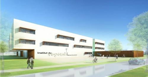 Le projet du cabinet d'architectes Chabanne et partenaires a été retenu pour la construction de l'Institut du végétal.