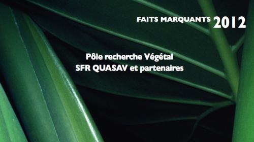couverture faits marquants végétal