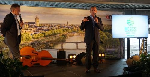 Intervention de François Laurens lors de la soirée des ambassadeurs, Angers 2018