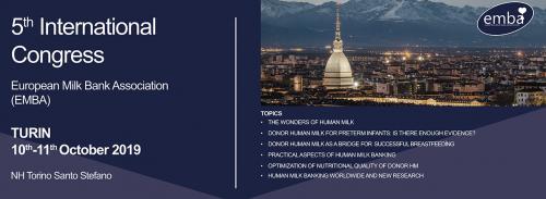 EMBA Congress in Turin, 2019