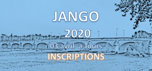Journée JANGO: Inscription - 3 Avril 2020 - Tours