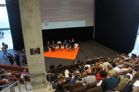 Table ronde Nantes Food Forum. © Inra
